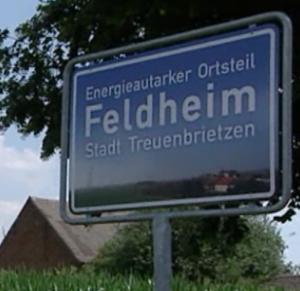Het Duitse dorpje Feldheim is volledige energie-onafhankelijk. Foto: still uit RTL video