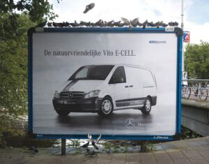 Mercedes Vito billboard