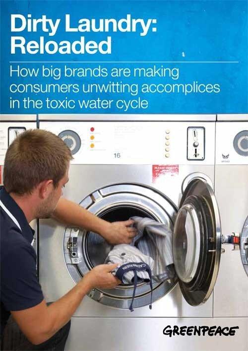 Gifstoffen uit kleding vervuilen ook ons water