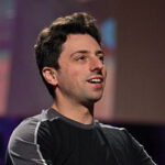 Sergey Brin tijdens een TED lezing. Foto: wikimedia commons