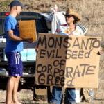 Verzet tegen Monsanto. Foto: wikimedia commons