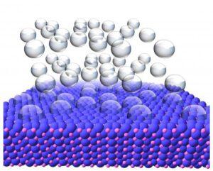 Nanodeeltjes maken waterstof. Foto: physorg
