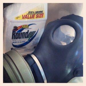Roundup, landbouwgif met glyfosaat. Foto: cheeseslave, Flickr