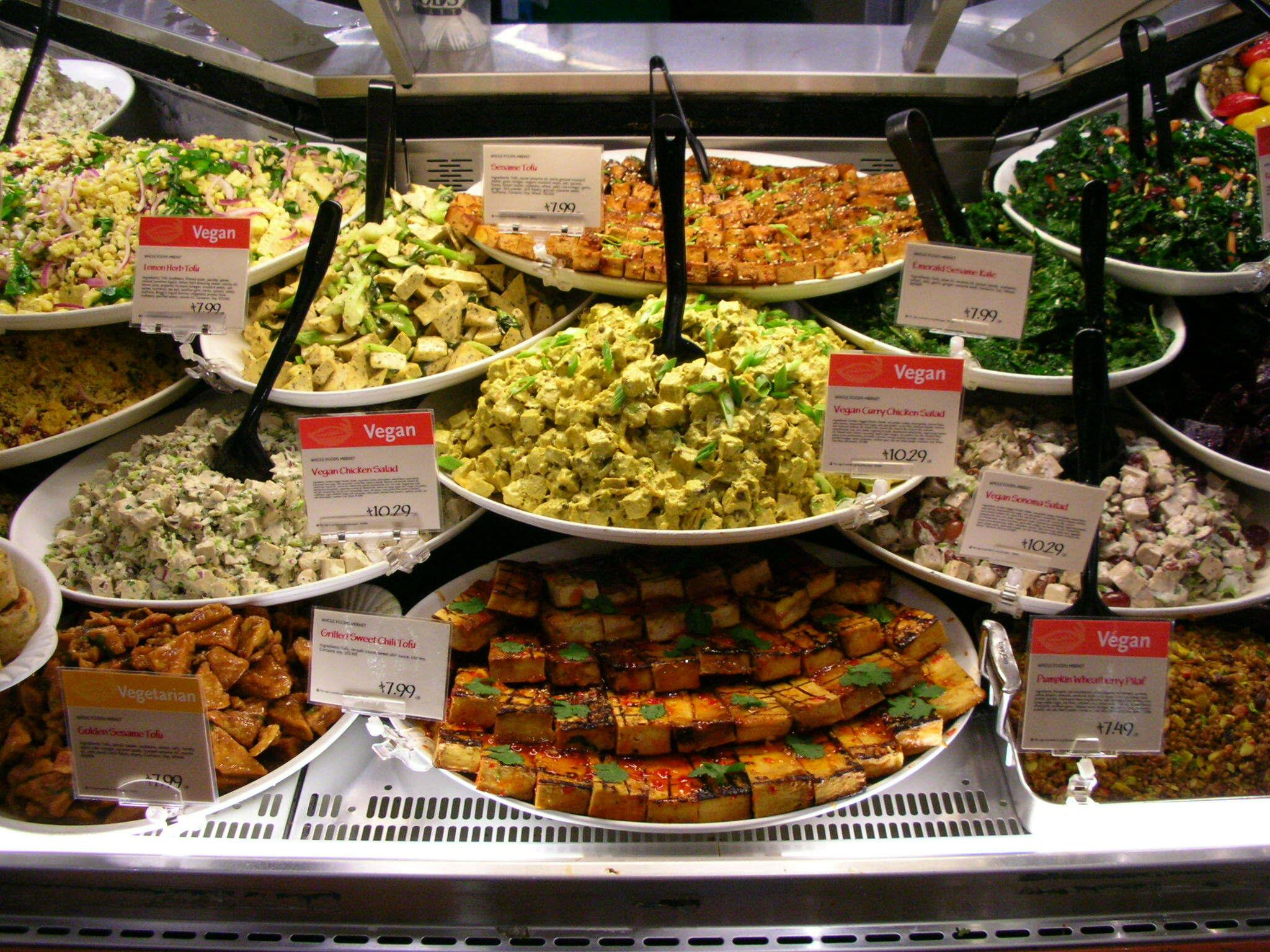 Veganistisch eten. Foto: wikimedia common