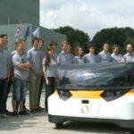 Stella. Eerste gezinsauto op zonne-energie. Foto: still uit video
