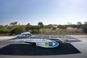 Nuna5, gesponsord door Nuon. Foto: Nuon Solar Team