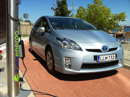Toyota Plug-in Hybride. Foto: Janitors, Flickr