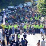 Protesten tegen schaliegas. Foto: Firesnapper999, Twitter