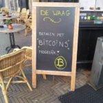 Betalen met Bitcoin kan ook in Nederland. Foto: wikimedia commons