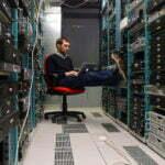 Datacenter van Google werden groener. Foto: Leonardo Rizzi, Flickr