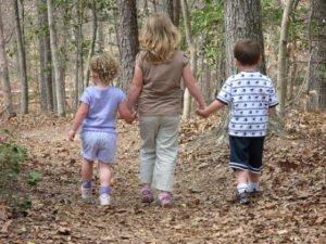 Privacy van kinderen. Foto: VA State Park staff