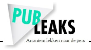 Publeaks voor klokkenluiders. Foto: screenshot publeaks.nl