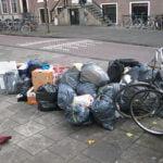 Afvalscheiding in grote steden niet op orde. Foto: wikimedia commons