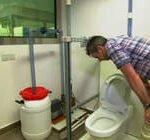 Biogas uit het toilet. Foto: still uit BBC video