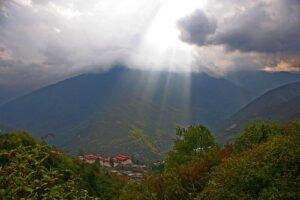 Elektrische auto's Bhutan. Foto: Jean-Marie Hullot, Flickr