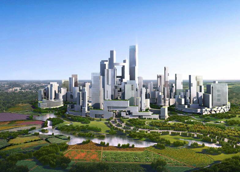 China plant autovrije stad voor 80.000 inwoners