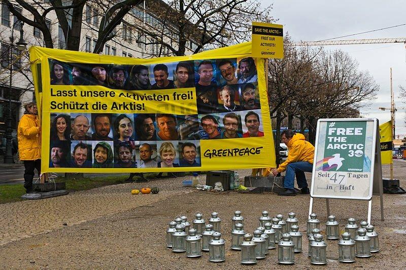 Laatste Greenpeace Arctic 30 activist mag ook op borgtocht vrij