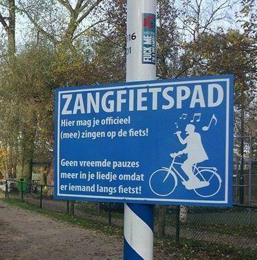 Nieuw in Nederland: het zangfietspad