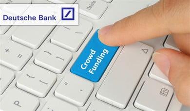 Deutsche Bank krijgt hulp van crowdfunders