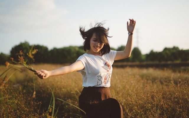 Vier geheimen van gelukkige mensen