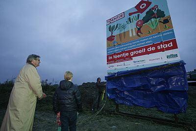 Groningen start stadstuin voor Voedselbank