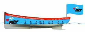 Ontwerp Plastic Whale boot. Foto: Plastic Whale