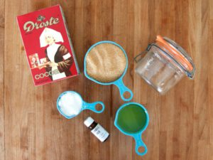 Recept scrub met cacao en kaneel. Foto: Claudia Pietryga.