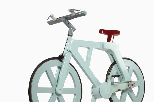 Kartonnen fiets. Foto: fastcoexist