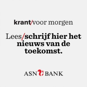 Krant voor morgen van de ASN Bank