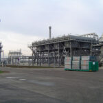 Gasopslag NAM bij Norg. Foto: wikimedia commons`
