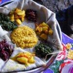 Injera: Ethiopische pannekoek van glutenvrij teffmeel. Bron: Rod Waddington, Flickr