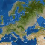 Europa in een ijsvrije wereld. Foto: Kees Veenenbos, National Geographic.