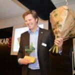 Matthijs Sienot wint Groene Belofte. Foto: NMU
