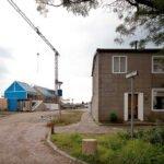 De passiefhuizen in aanbouw. Foto: Energiesprong, Flickr