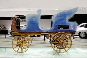 Eerste elektrische Porsche, de P1. Foto: Porsche
