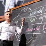 Donald Sadoway biedt oplossing voor grootste probleem duurzame energie. Foto: TED