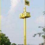 Skyhive prototype in Maastricht. Foto: Beecollective