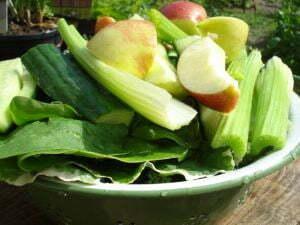 Groentesappen en groene smoothies maken