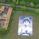 Portret van drone slachtoffer. Foto: 360