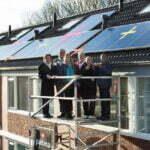 Zonnepanelen van Tegenstroom op huurhuizen. Foto: Tegenstroom