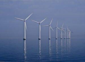 Offshore windmolenpark. Foto: Kim Hansen, Flickr.