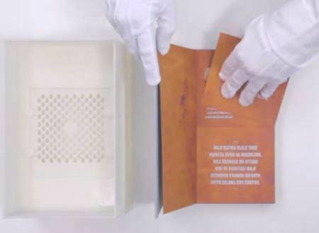 Revolutionair drinkbaar boek produceert 4 jaar lang schoon drinkwater