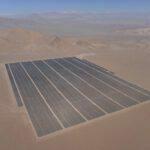 100 MW zonnepark in de Atamaca woestijn in Chili. Foto: PR Newswire
