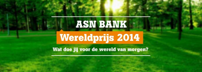 De 25 projecten van de ASN bank wereldprijs zijn bekend