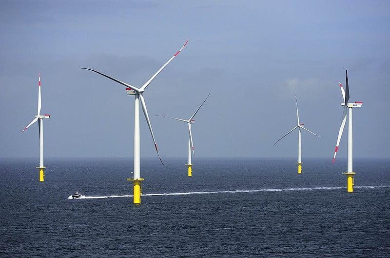 Duits windpark op zee Riffgat levert beduidend meer stroom dan verwacht