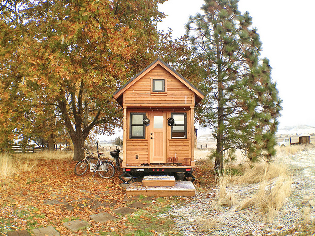 Tiny House Movement: gelukkig op 25 vierkante meter