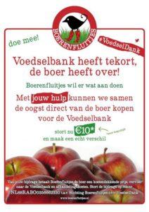 #voedseldank actie. Foto: @boerenfluitjes