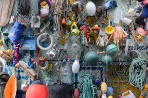 Plastic soep gevonden op de stranden van Texel. Foto: Daniël Poolen
