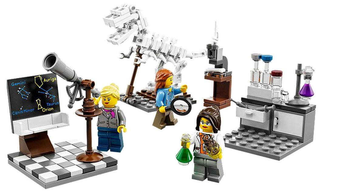 Lego komt met set 'het onderzoeksinstituut' met vrouwelijke wetenschappers