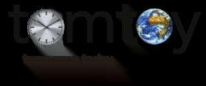 Logo voor Tomtoy, warenhuis voor circulaire economie